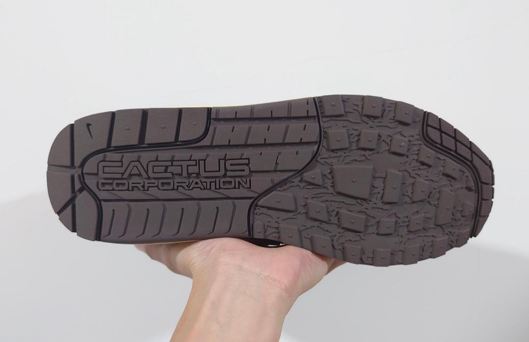 Travis Scott,Nike,Air Max 1,DO  还是原来的味道!「大地色系」TS x Air Max 1 最新实物曝光!