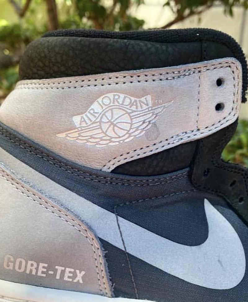 "Air Jordan 1 Element,Gore-Tex,  「雨鞋」AJ1 ""Gore-Tex"" 实物曝光!外底确定这么草率吗?"