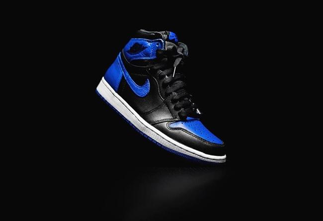 AJ,Air Jordan 1 High OG,Dark M  「皇家蓝 2.0」来了!全新 Air Jordan 1 实物曝光!