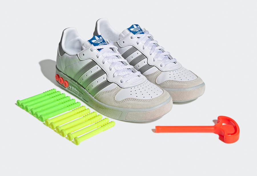 adidas GS,Cloud White,H01818  可调节缓震!全新配色 adidas GS 官图曝光!