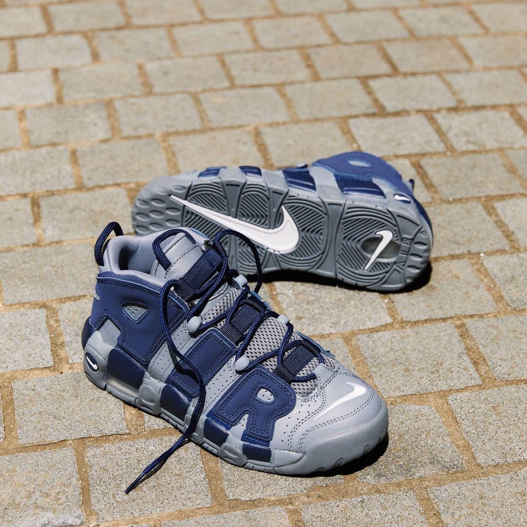 Nike,Air More Uptempo,921948-0  经典蓝色装扮!全新 Nike「大AIR」实物图释出!
