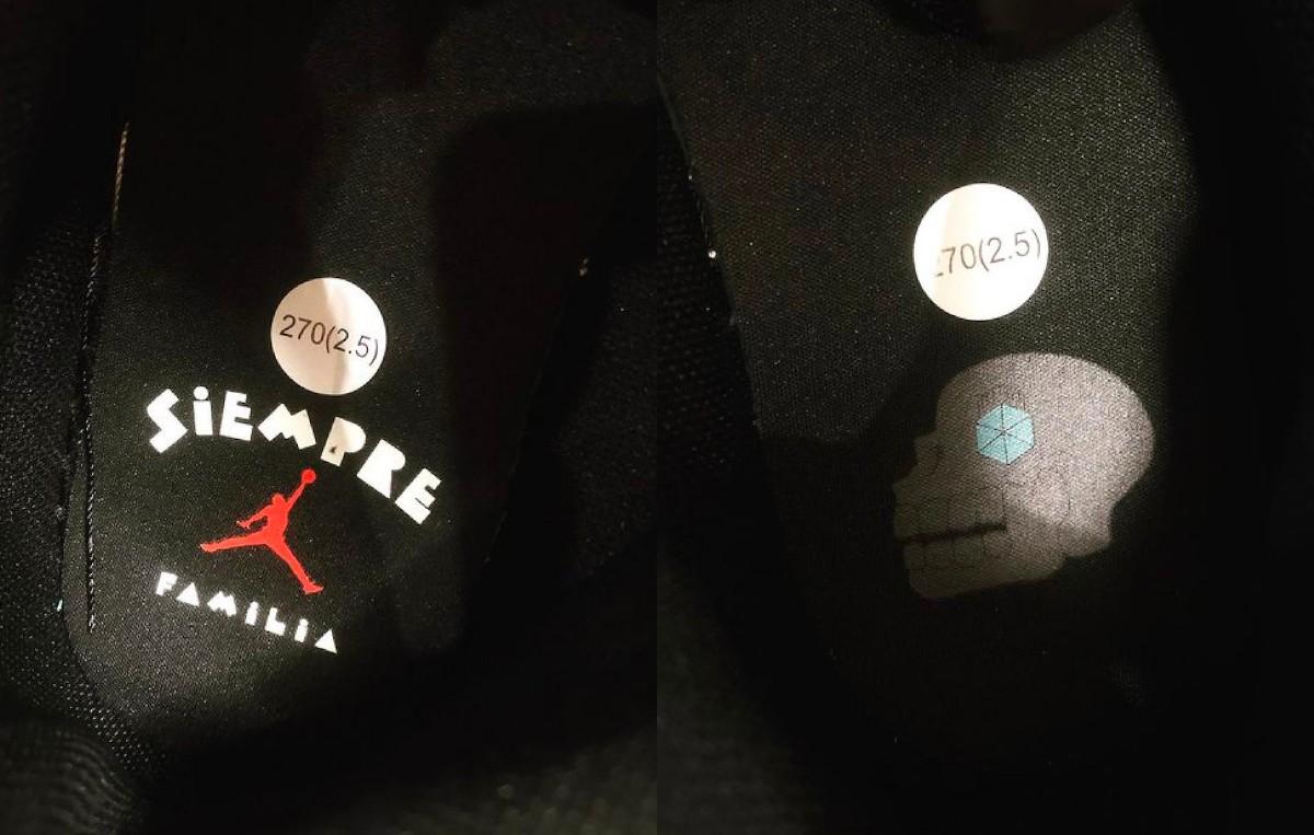 Air Jordan 1 Mid,AJ1,亡灵节,Siemp  带「牙齿」的 AJ1 头一次见!亡灵节配色下月发售!