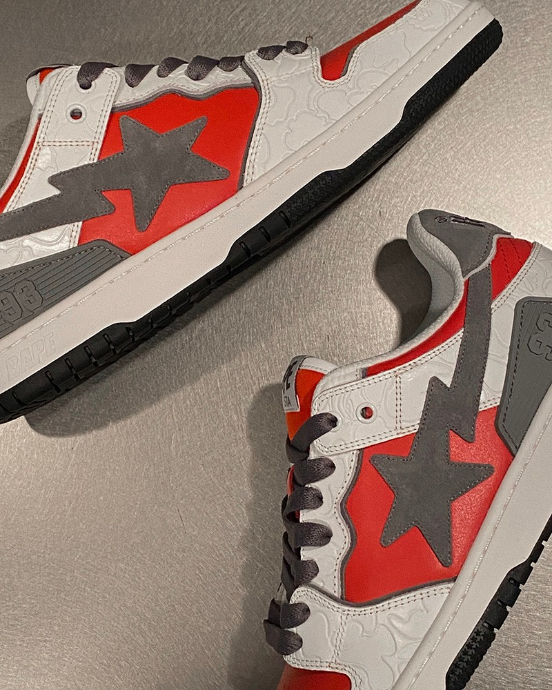 BLOCK STA HI,SK8 STA,BAPE®  街头奢华气质!BAPE® 多款新品球鞋曝光!