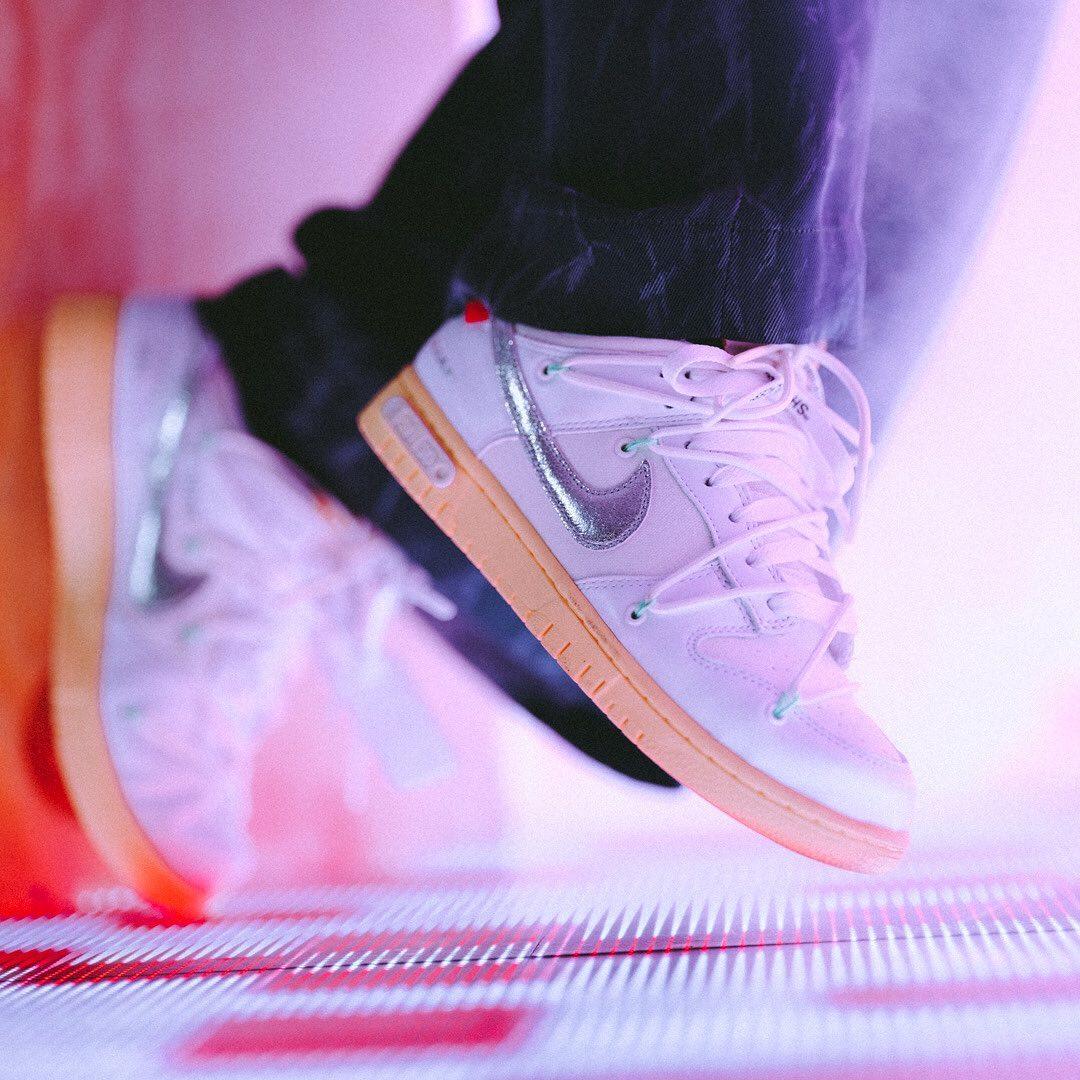 OFF-WHITE,Nike,Dunk Low,发售  OW x Dunk Low 今早再次专属!你中签了吗?