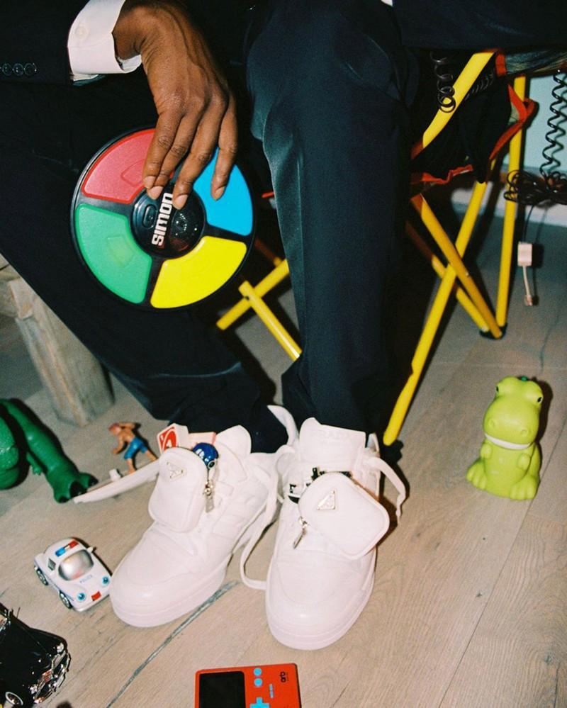 A$AP Rocky,Prada x adidas,Foru  A$AP Rocky 提前上脚!Prada x adidas 联名新鞋曝光!