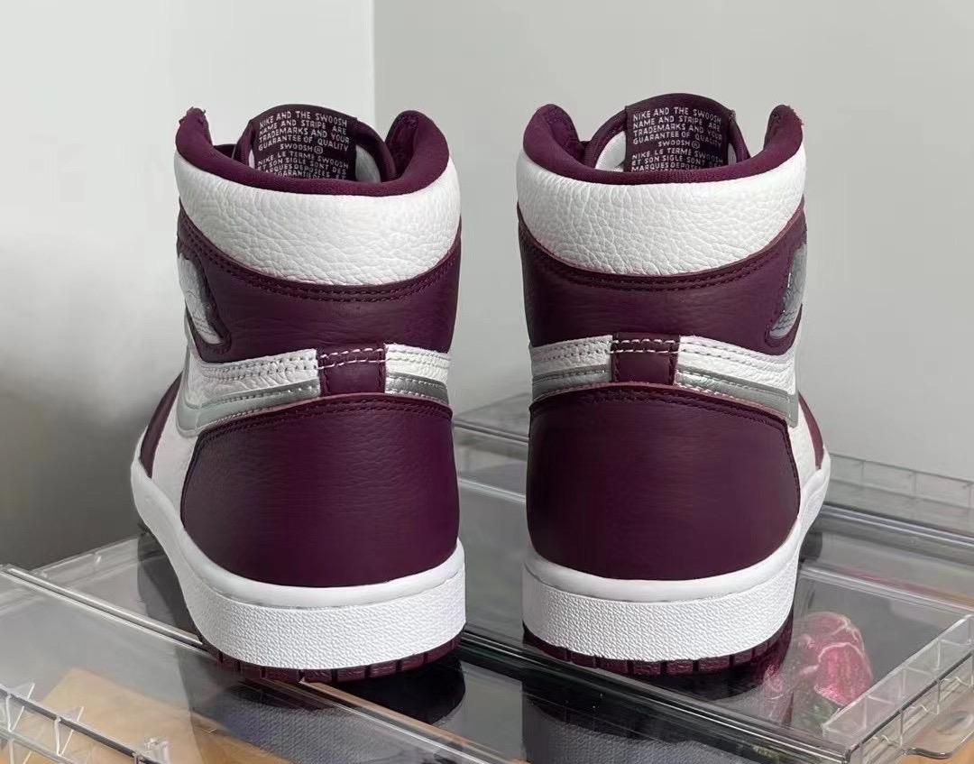 AJ,Air Jordan 1 High OG,Bordea  经典「波尔多」配色!全新 Air Jordan 1 Hi 实物曝光!
