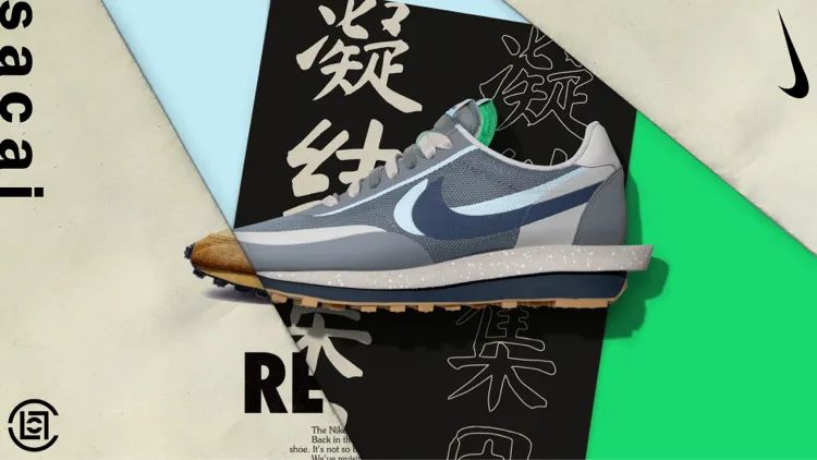 sacai,CLOT,Nike,明星,发售  死亡之吻 sacai 明早 SNKRS 发售!第二款配色日期也有了!