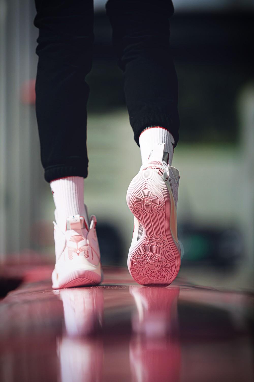李宁,CJ1  「李宁新鞋」十几处细节戏真多!网友:这鞋我等了三年!