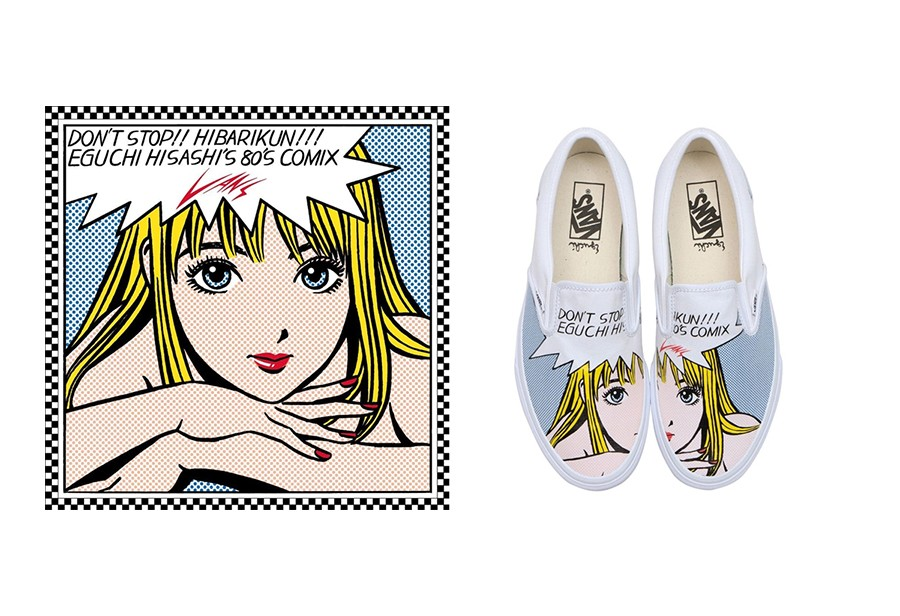 江口寿史,vans  美如画!Vans「漫画少女联名」太猛了!下周即将发售!