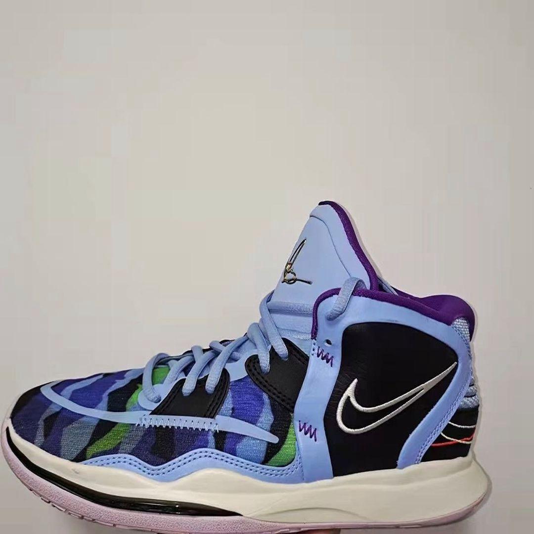 Nike,Kyrie 8  近期最有话题实战鞋!两款全新 Kyrie 8 实物曝光!