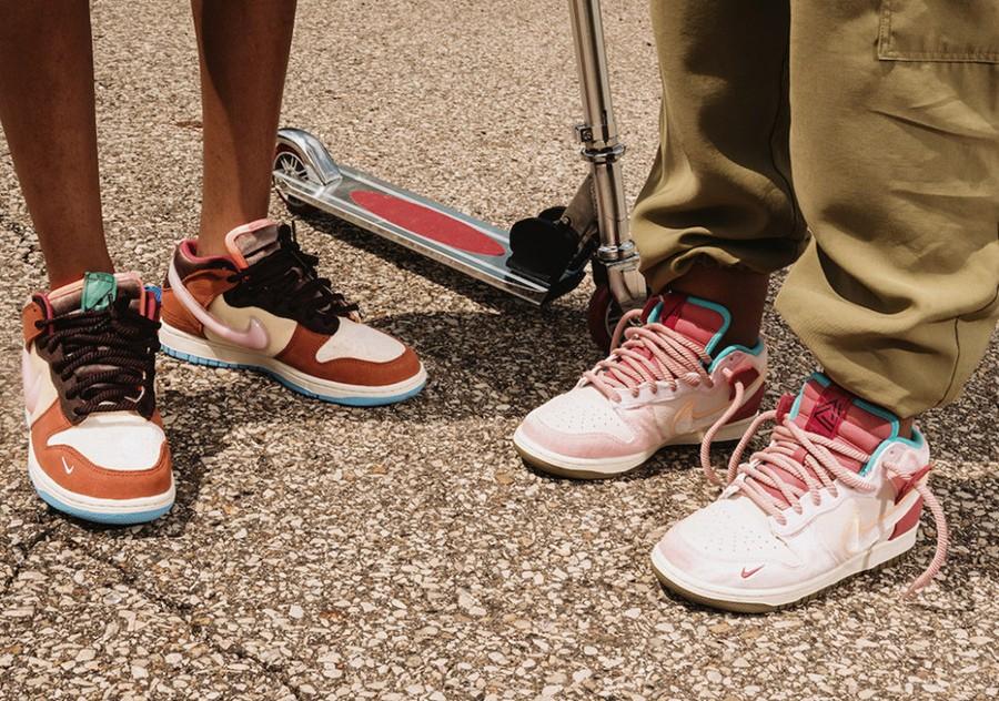 Social Status,Nike,Dunk Mid,DJ  SNKRS 上架!质感不输「情人节」!全新联名 Dunk 终于来了!