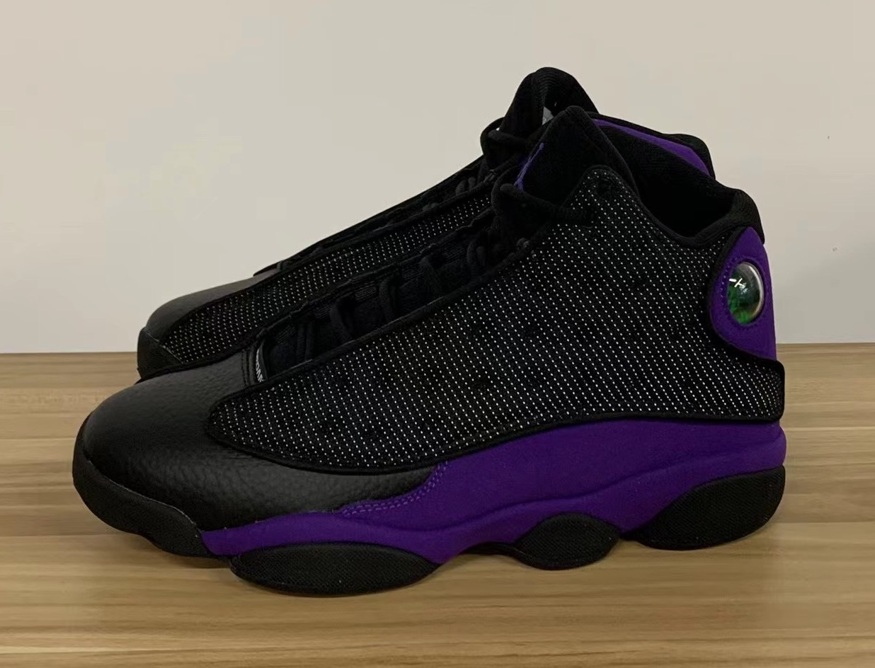 AJ,Air Jordan 13,Court Purple,  3M 反光效果!全新配色 Air Jordan 13 实物曝光!