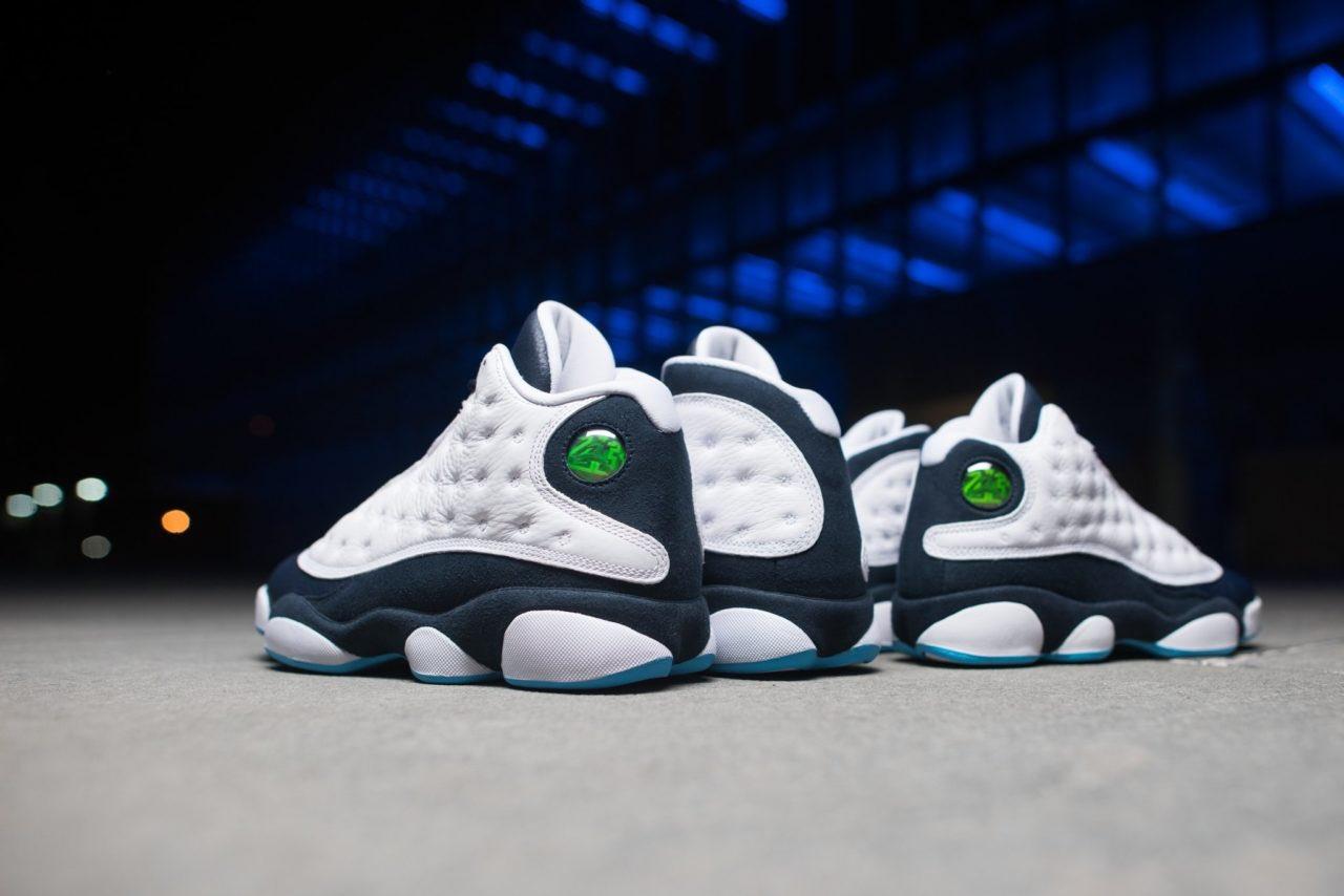Air Jordan 13,AJ13,Obsidian,41  酷似经典「熊猫」配色!黑曜石 Air Jordan 13 本周即将发售!