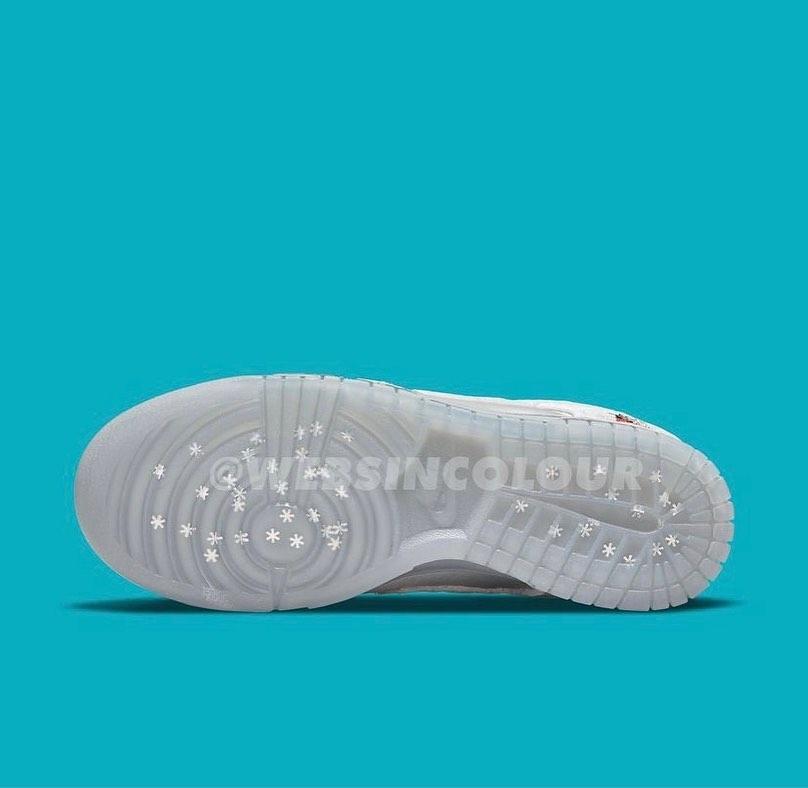 Nike,Dunk Low  情人节 + 冰雪奇缘!全新「冰雪节」Dunk Low 首次曝光!