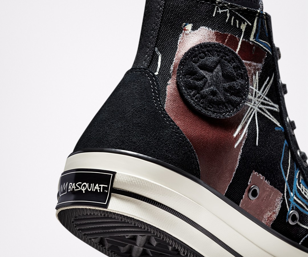 Basquiat,Converse,Chuck 70,Chu  前卫涂鸦 + 经典造型!全新 Basquiat x Converse 联名曝光!