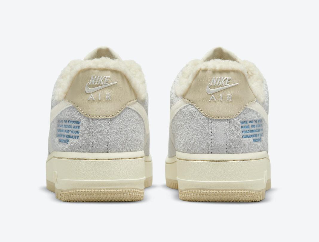 Nike,Air Force 1,DO7195-025  温暖羊毛内衬!全新配色 Air Force 1 Low 官图曝光!