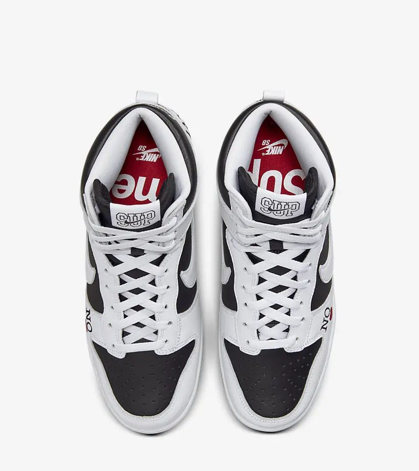 Nike  Supreme x SB Dunk 官图曝光!依旧备受瞩目!