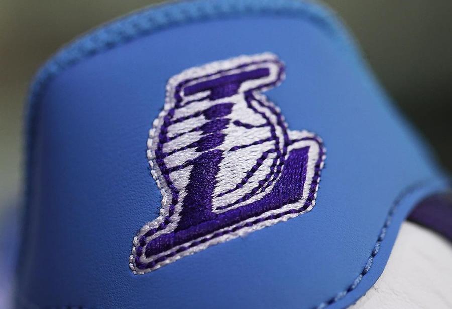 NBA,Nike,Air Force 1 Low,Lake  经典湖人配色!NBA x Air Force 1 Low 实物曝光!