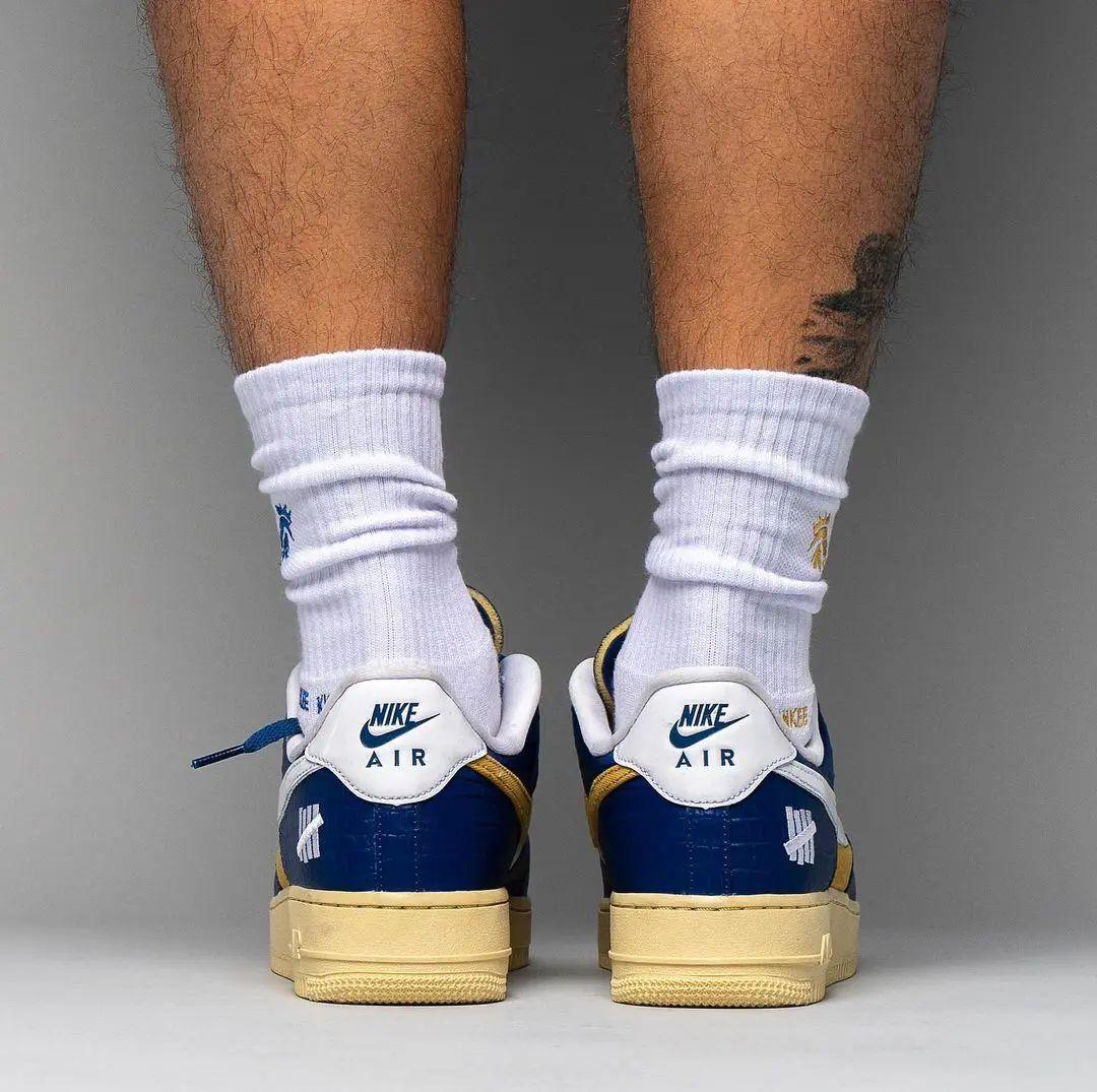 UNDFTD,Nike,Air Force 1 Low,Du  上脚图欣赏!UNDFTD x Nike Air Force 1 现已发售!
