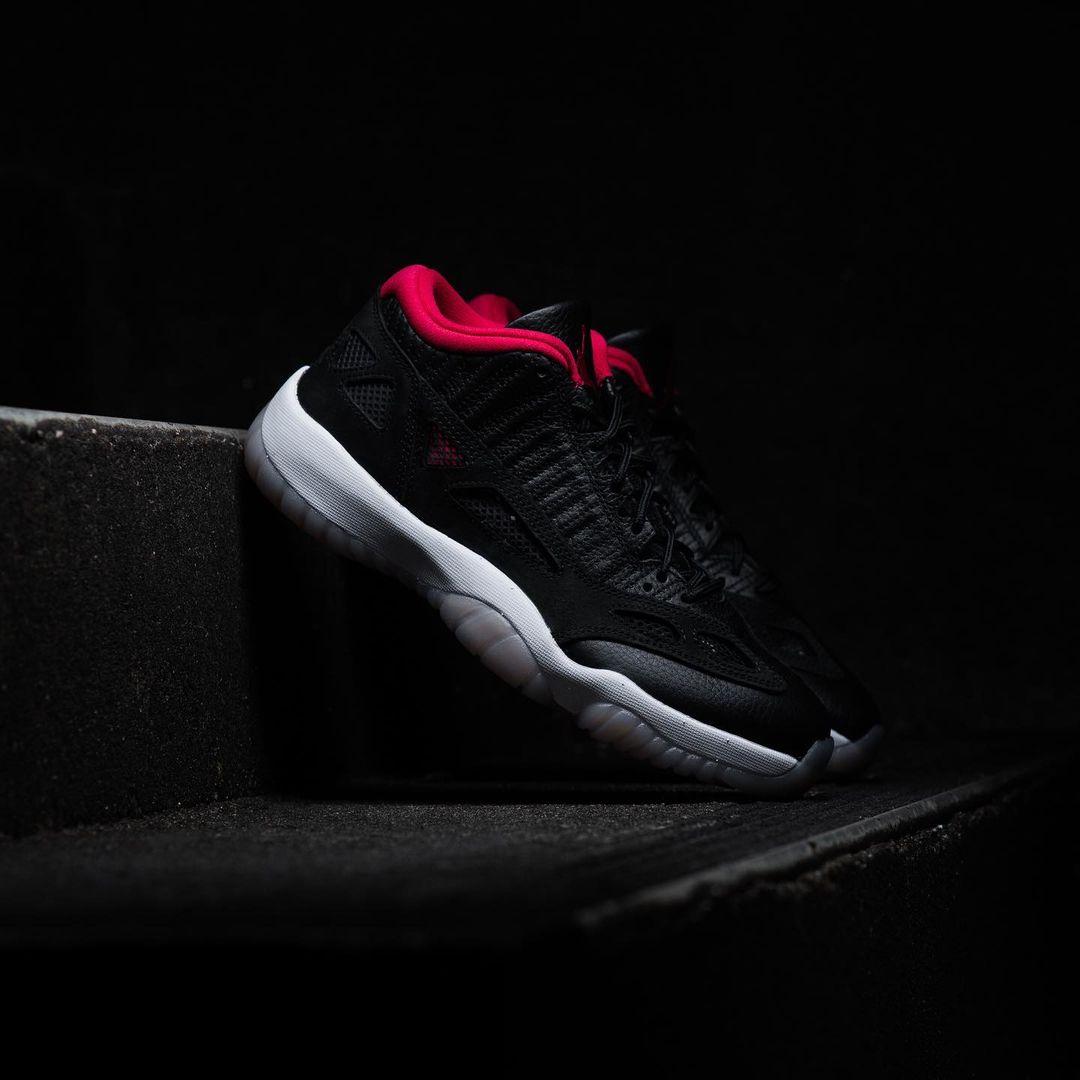 Air Jordan 11 Low IE,AJ11,Bred  乔丹赛场亲穿!特别版 AJ11 本周终于要发售了!