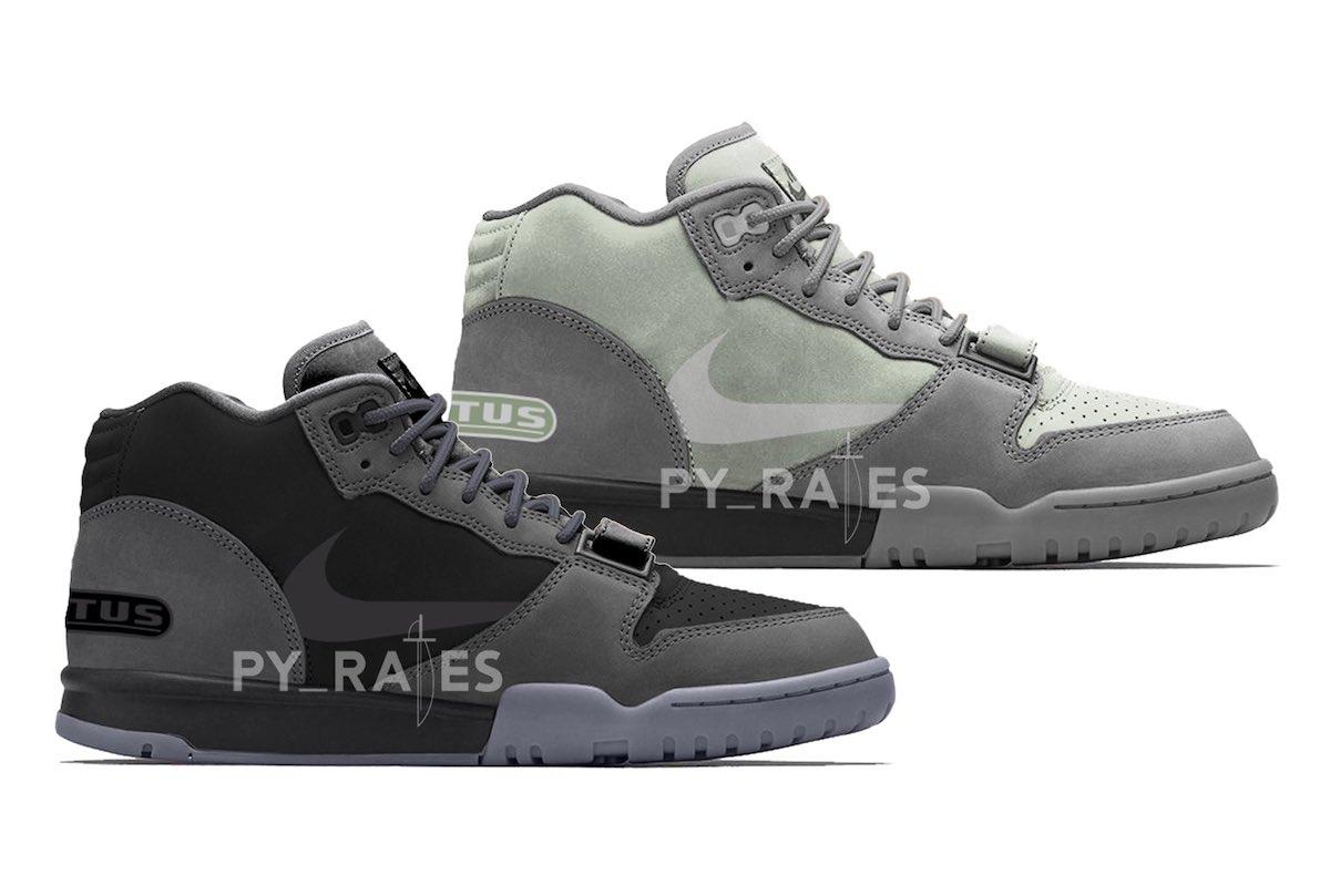 Travis Scott,Nike,Air Trainer  Travis Scott x Nike 新联名多款配色曝光!发售信息有了!