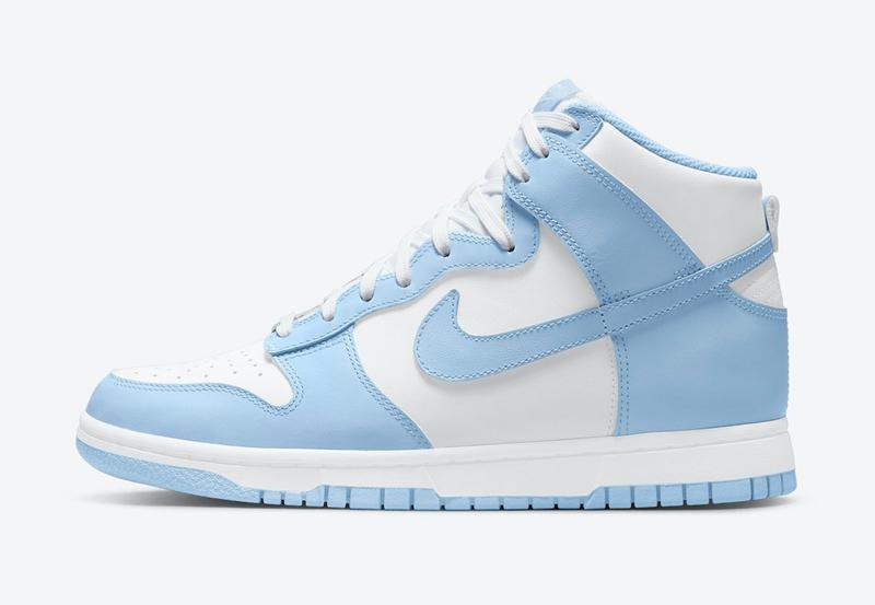 Nike,Dunk High,Aluminum  最美配色之一!全新冰蓝 Dunk Hi 官图曝光!
