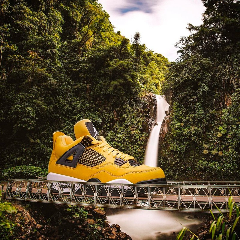 球鞋壁纸,球鞋艺术  还不存下来当壁纸!Ins 超火的巨大化球鞋艺术太美了!