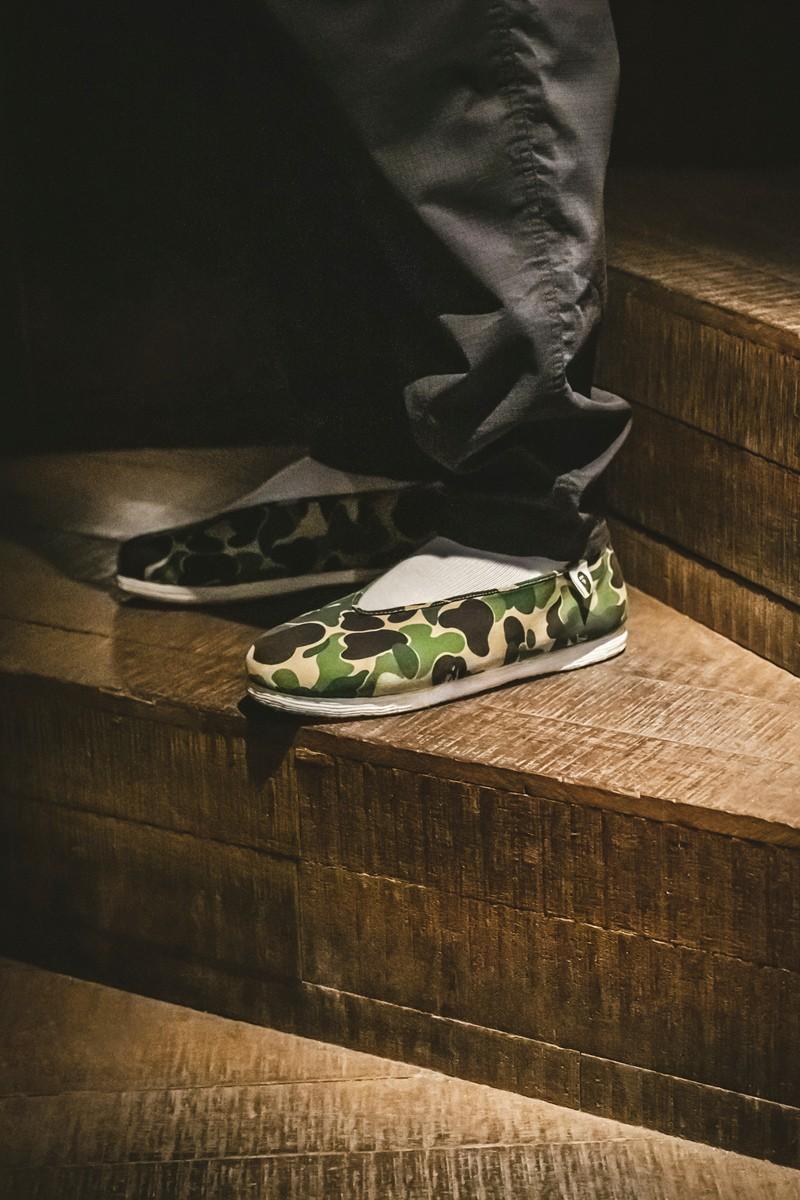 Bape,内联升  最意想不到的联名!全新 BAPE x 内联升布鞋即将发售!
