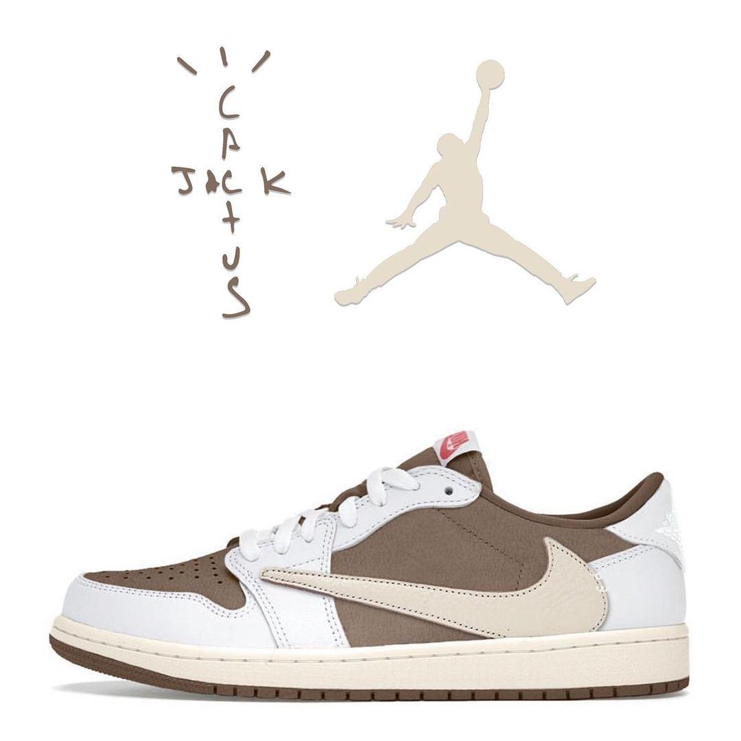 Travis Scott,AJ1,Air Jordan 1  两双「倒钩」 AJ1 传闻明年发售!有可能是 TS 女儿同款!