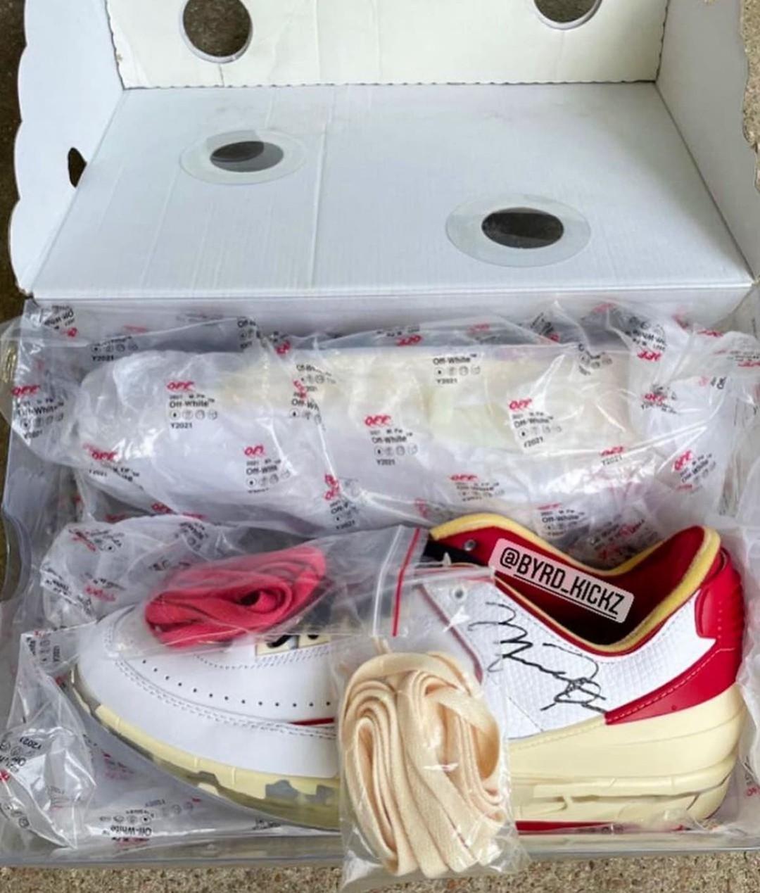 OFF-WHITE,Air Jordan 2 Low,DJ4  年底发售!又是芝加哥又是解构!OW x AJ2 最新实物曝光!
