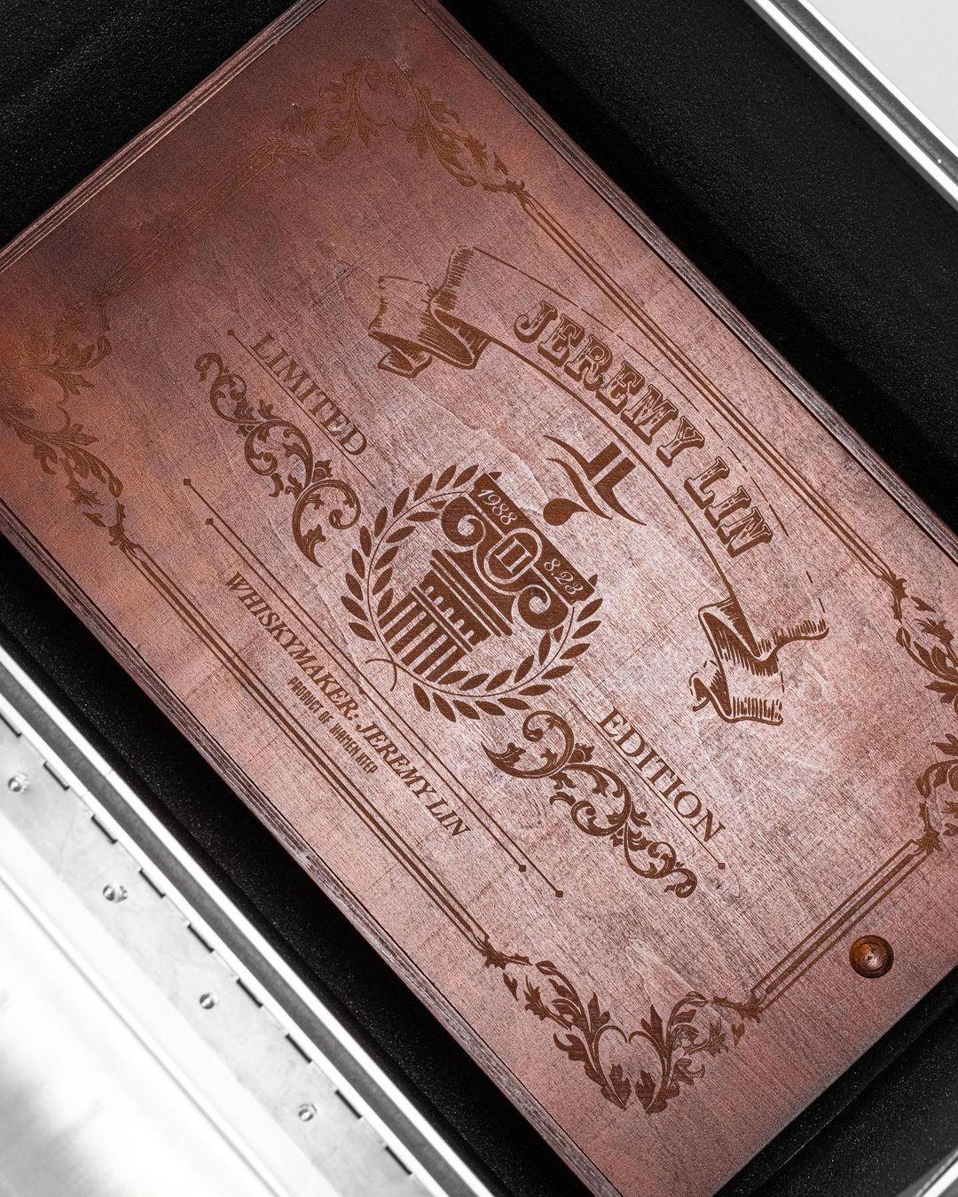 林书豪,特步  标配奢华木盒!「威士忌」配色林书豪二代最新实物曝光!