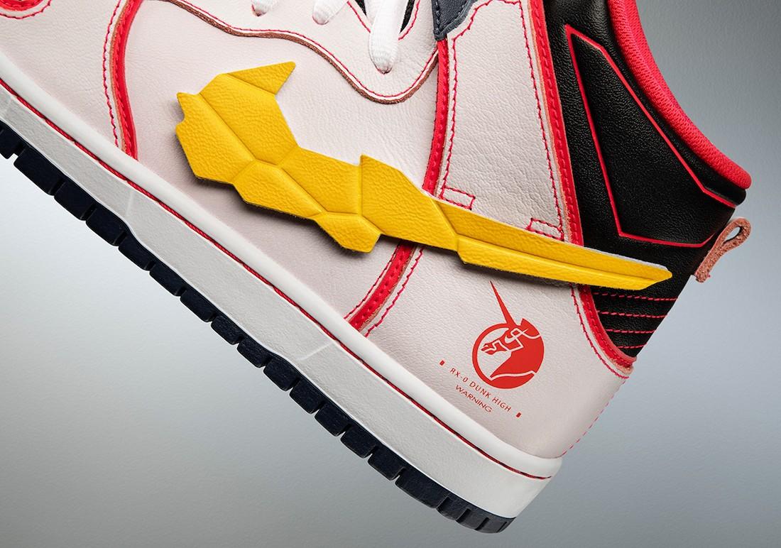 Nike,高达,Dunk SB Hi  高达 Dunk SB 答题才能买?!国区 SNKRS 预告!