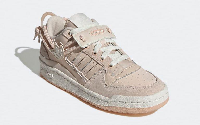 "adidas,Forum Low,Linen,GX3659  金属三叶草 Logo 加持!全新 adidas Forum Low ""Linen"" 官图曝光!"