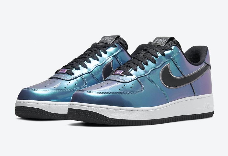 彩虹,全息,材质,全新,Nike,Air,Force,Low  彩虹全息材质!全新 Nike Air Force 1 Low 官图曝光!