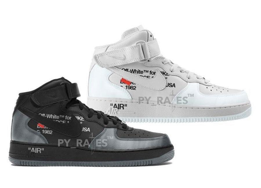 OFF-WHITE,Nike,Air Force 1  OW x Nike 新联名惊喜真不少!钉鞋版 AF1 还是头次见!