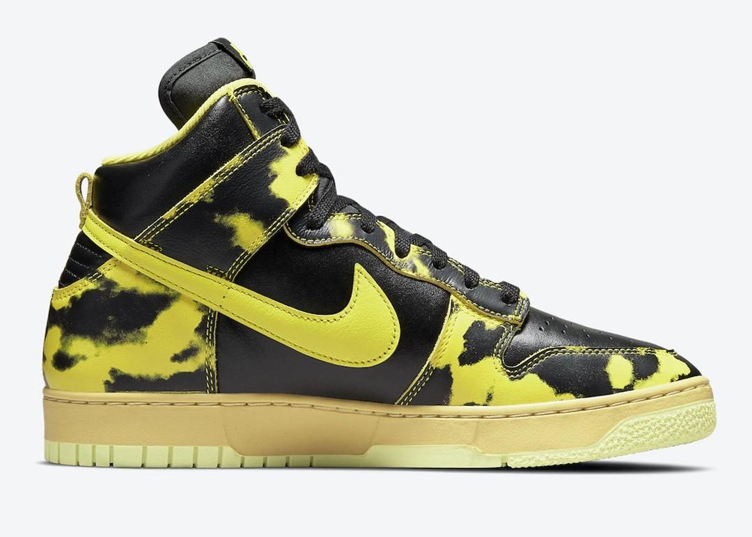 Nike,Dunk High,1985,Yellow Aci  超吸睛撞色造型!两款全新 Dunk High 即将登场!