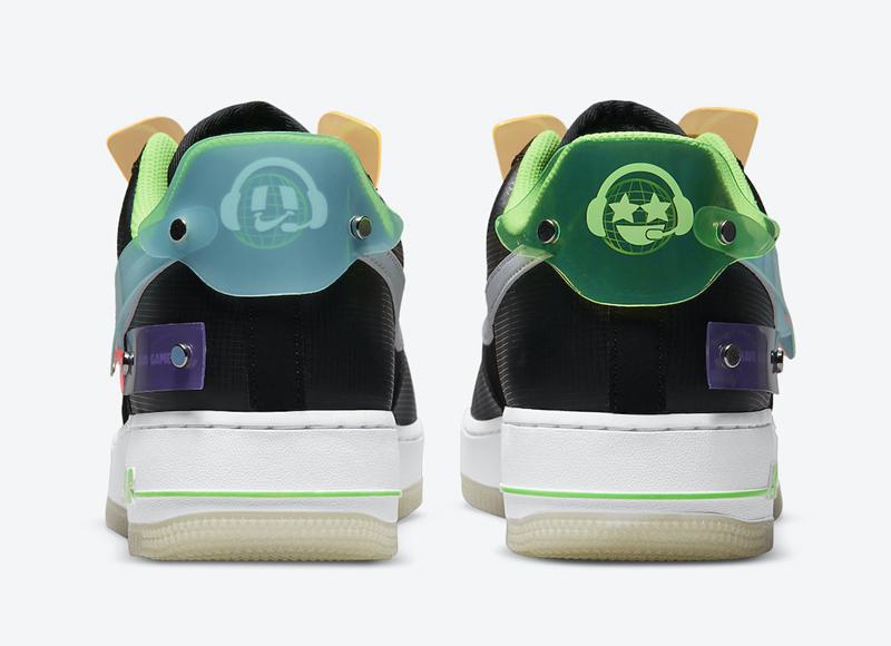 Nike,Air Force 1 Low,DO7085-01  超科幻电竞主题!全新配色 AF1 Low 现已发售!