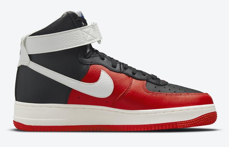 Nike,Air Force 1 Hi,DC8870-001  火箭、魔术配色来了!全新 NBA x Nike AF1 Hi 官图曝光!