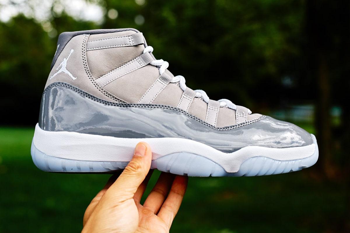 AJ,AJ11,Air Jordan 11,Cool Gre  钱备好!「酷灰」Air Jordan 11 发售日期有了!最新实物 + 上脚曝光!