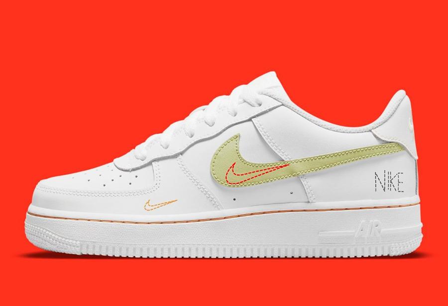 Nike,Air Force 1,DN8000-100  多彩细节点缀!全新配色 Air Force 1 实物曝光!