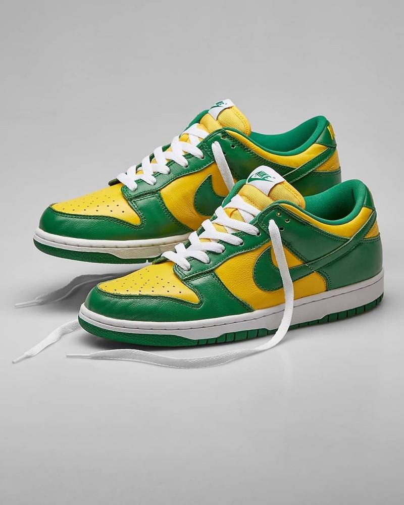 Supreme,Nike,巴西,SB Dunk High  浓浓的桑巴风情!全新配色 Supreme x SB Dunk 实物曝光!