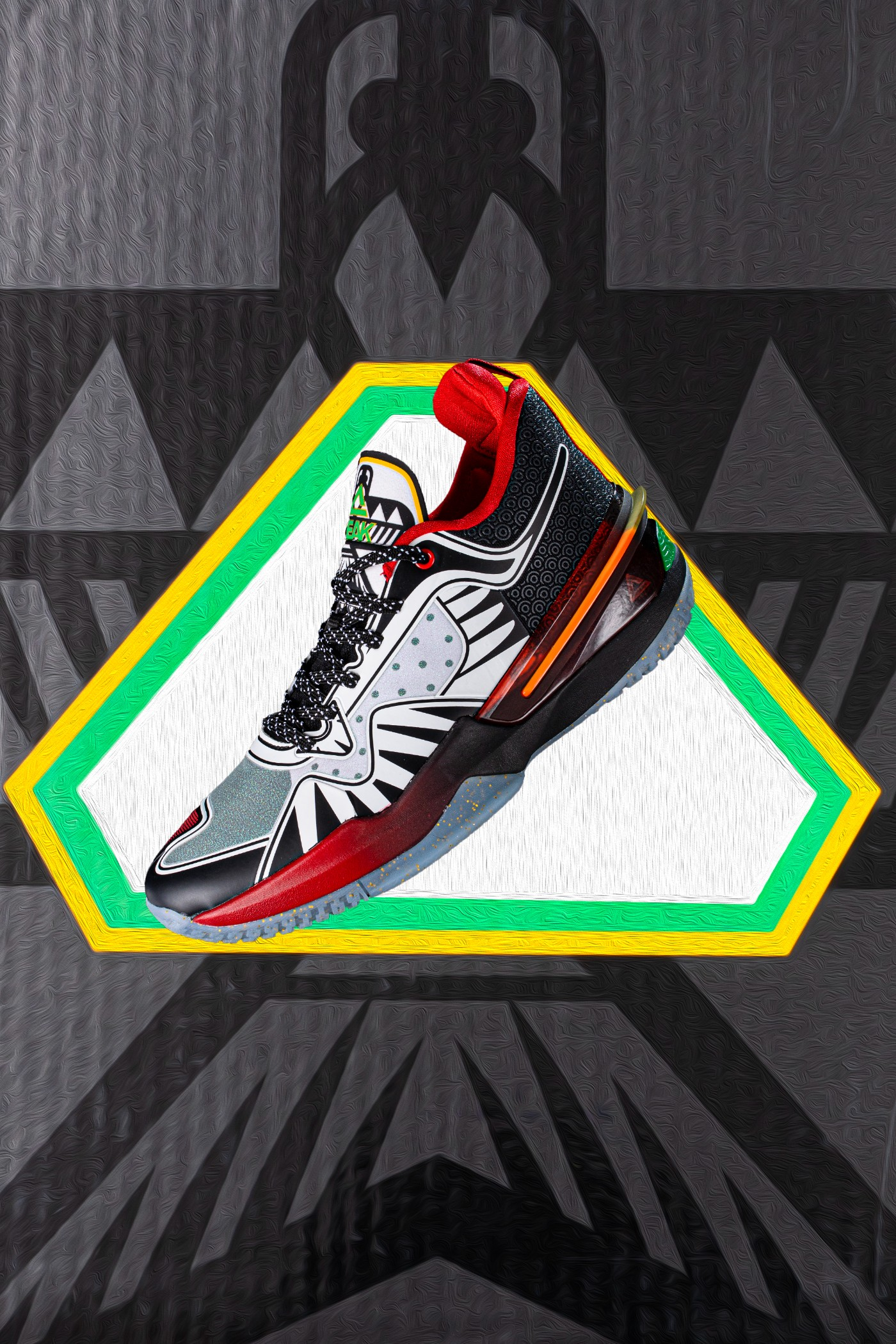 发售,匹克,Peak,闪现 3  近期超火网红战靴!风筝闪现 3 开箱上脚!网友:配色玩明白了!