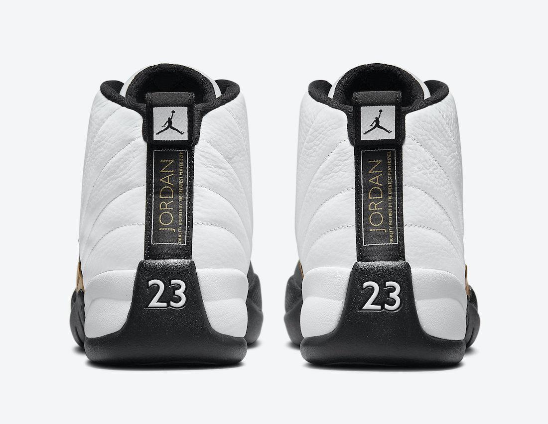 Royalty,AJ12,AJ,Air Jordan 12,  官图曝光!「金扣」Air Jordan 12 下月发售!区别真的不大!