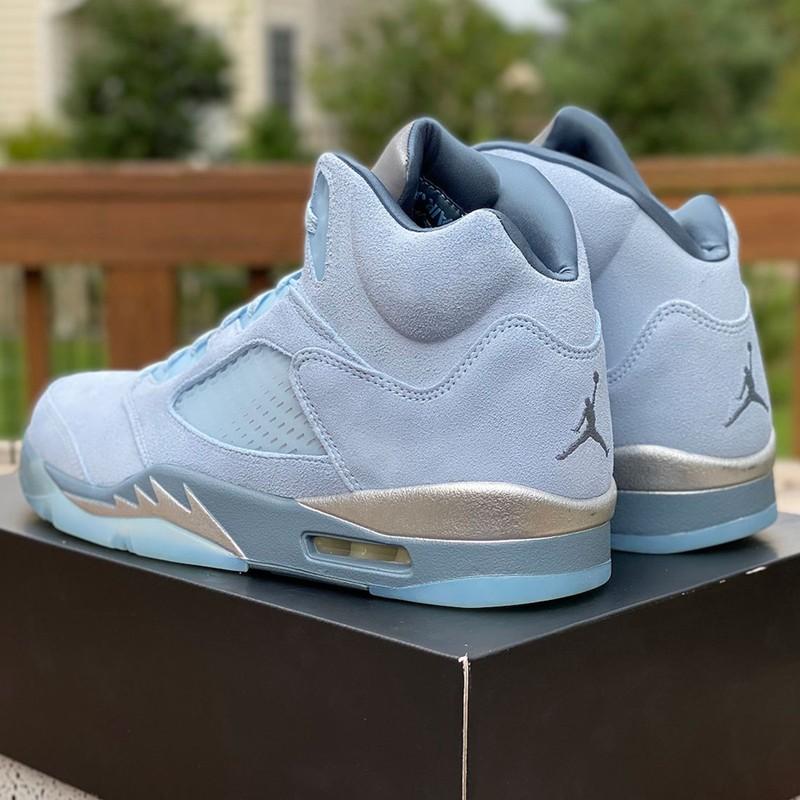 "Air Jordan 5 WMNS,Bluebird,DD9  今年最美球鞋我投它一票!AJ5 WMNS ""蓝鸟"" 最新实物曝光!"