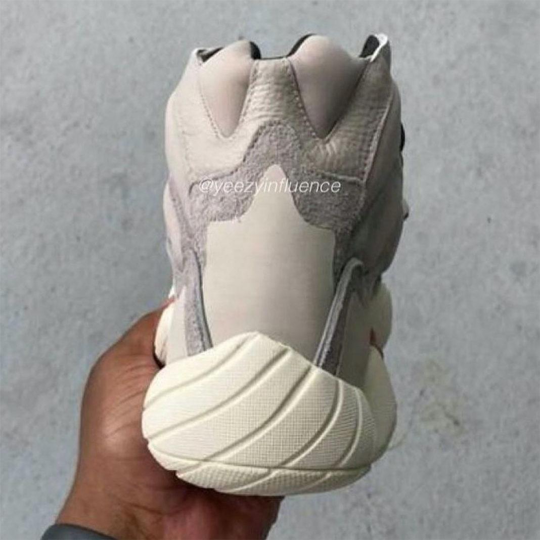 adidas,Yeezy 500 High,Mist Sto  素雅气质!高帮 Yeezy 500 实物曝光!本月发售!