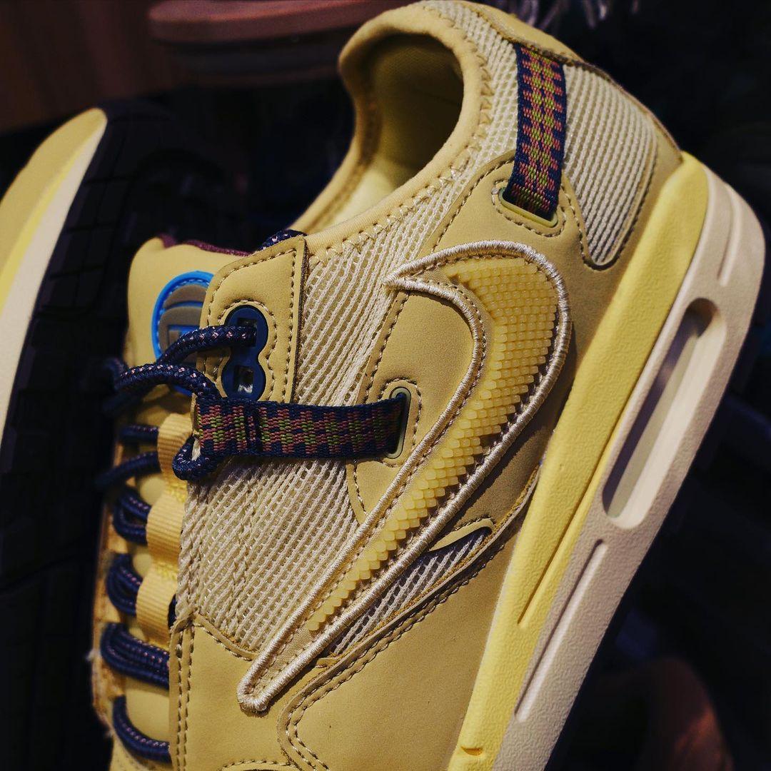 Travis Scott,Nike,Air Max 1,发售  「氧化」 TS x Air Max 1 实物曝光!新细节首次现身!