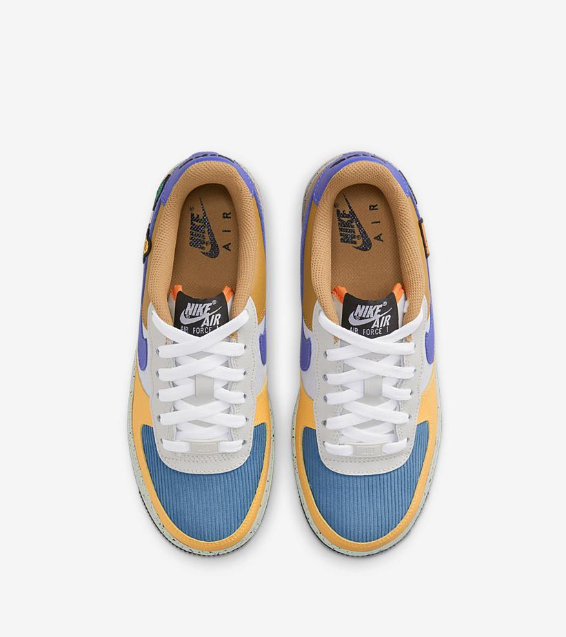 Nike,Air Force 1 Low,DO4657-74  罕见「灯芯绒」鞋面!经典 ACG 装扮 Air Force 1 官图曝光!