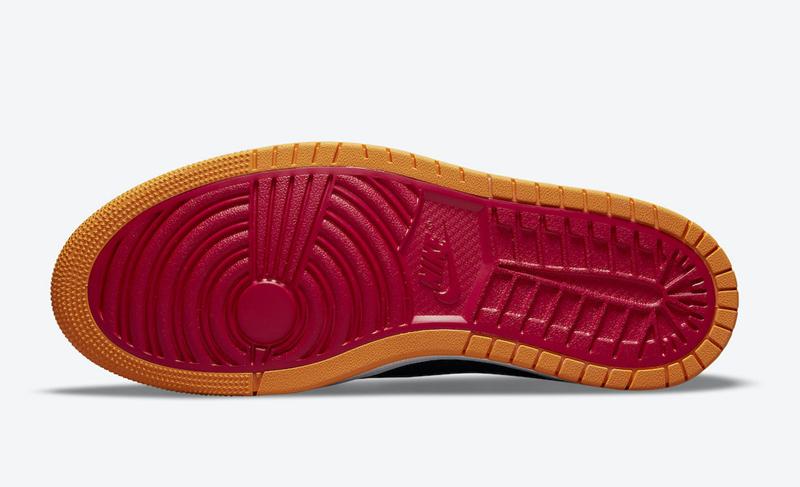 Air Jordan 1 Zoom CMFT,CT0978-  万圣节南瓜装扮!全新配色 Air Jordan 1 官图曝光!