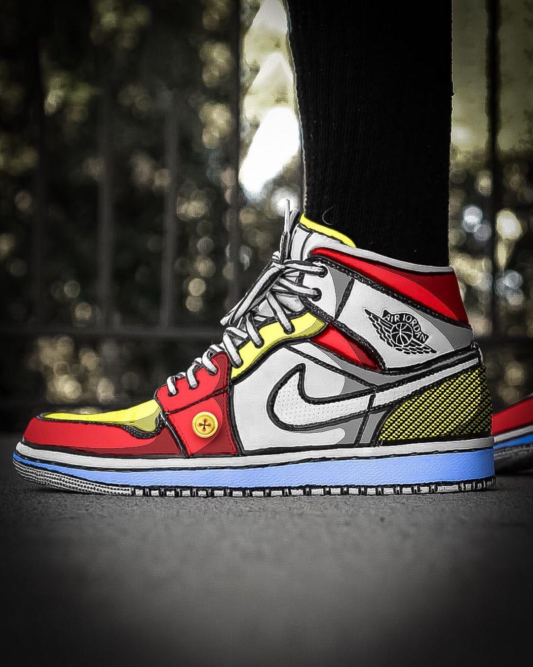 Nike,Air Jordan 1,AJ1,sacai,Ai  梦寐以求的绝美天价配色!糖果二次元 AJ1 你打几分?