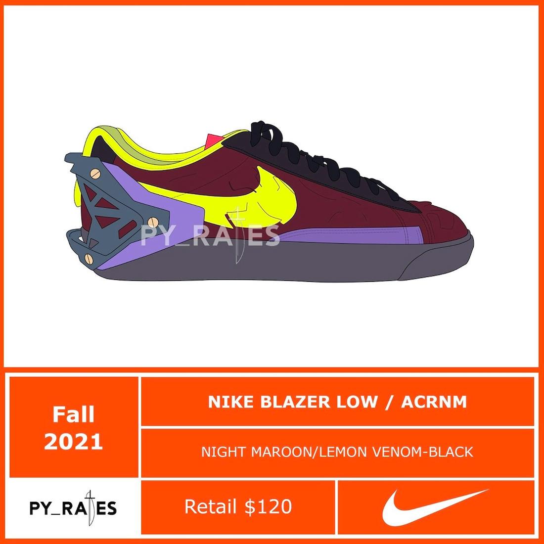 又要,合,作了,ACRONYM,Nike,新联名,新,联名,  又要合作了!ACRONYM x Nike 新联名首次曝光!